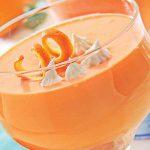 طرز تهیه دسر فروماژ پرتقالی