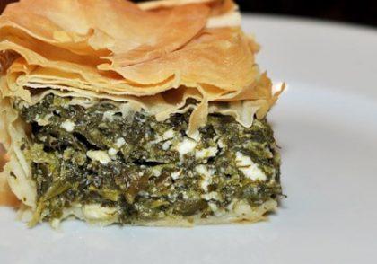 طرز تهیه رول اسفناج با پنیر