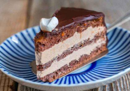 طرز تهیه کیک روسی پراگ
