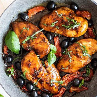 طرز تهیه مرغ بالزامیک