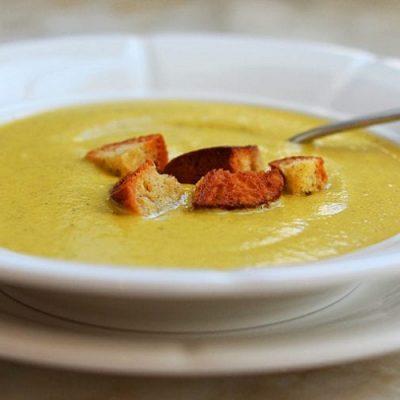 طرز تهیه سوپ بروکلی با خامه