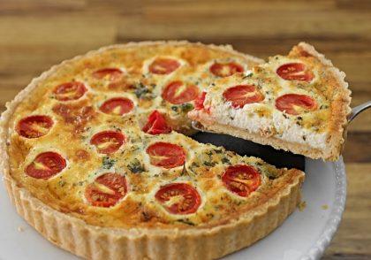 طرز تهیه کیش پیتزا