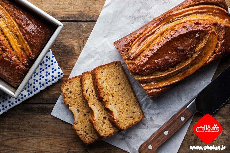 طرز تهیه نان موز