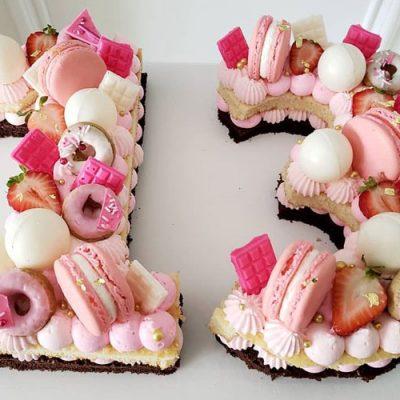 طرز تهیه کیک عدد